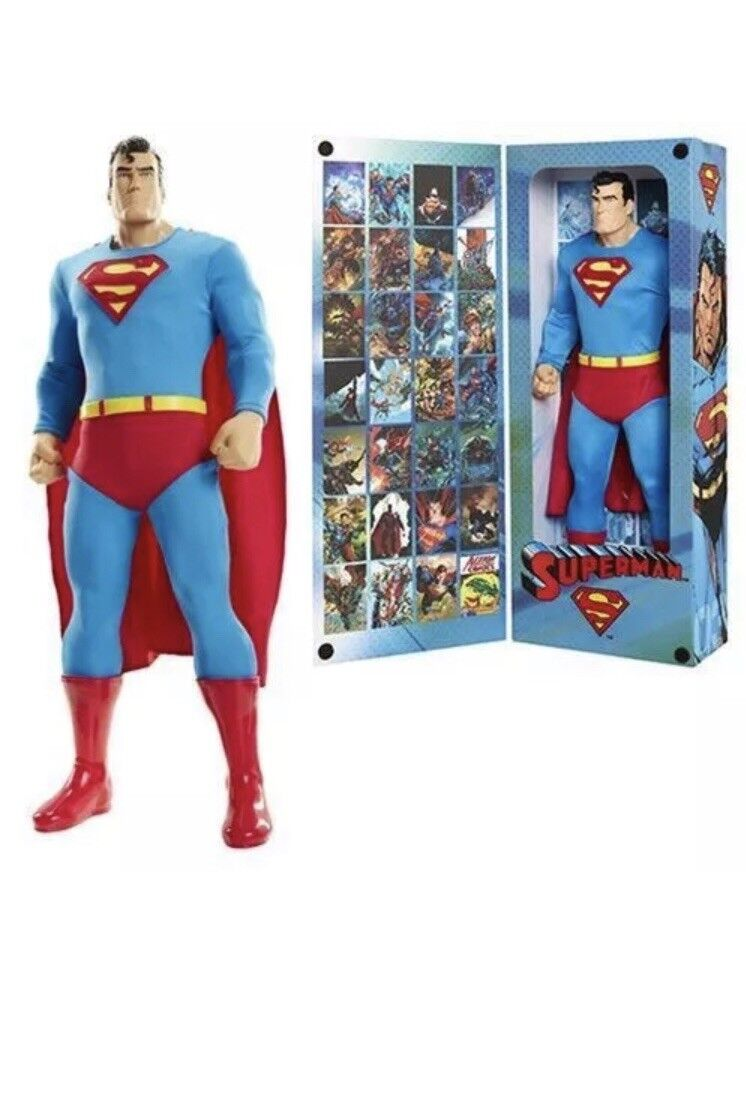 DC BIG FIGS TRIBUTE 18  action figure SUPERMAN NEW
