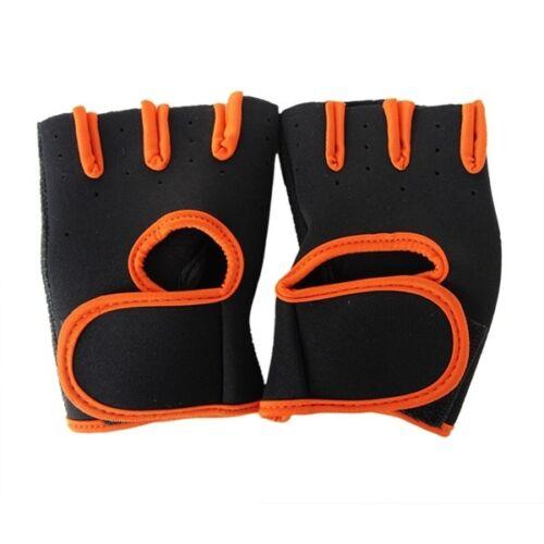 Slip-Resistant Fitness Gloves Wrist Wrap Men Women Body Building Sport Exercise