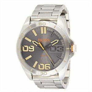 Hugo-Boss-Orange-Berlin-Men-039-s-Stainless-Steel-Watch-1513317-New-in-Box-with-Tags