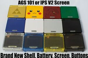 *Refurbished* Nintendo Game Boy Advance SP AGS-101 Brighter Choose Your Color