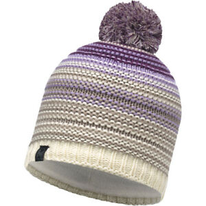 911329ccfd7 Image is loading Buff-Neper-Womens-Knitted-Winter-Hat-Violet