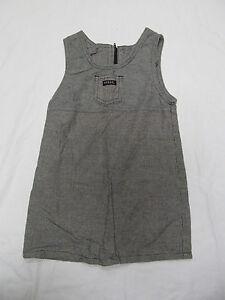 c9d9952ed7f5 Baby Girl s Guess Jumper Dress Size 3 Toddler 3T Black Gray White ...
