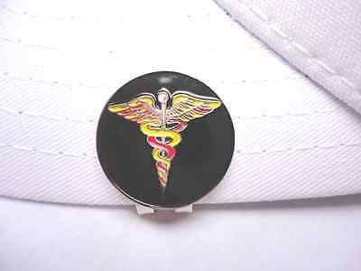 Medical Symbol Golf Ball Marker - W/Bonus Magnetic Hat Clip