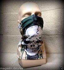 """Scaldacollo Passamontagna copertura naso faccia maschera """" Grande testa di morto"""
