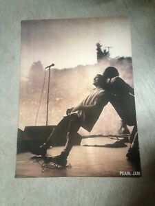 "Pearl Jam live in concert 23"" x 33"" poster - Eddie Vedder - NEW, shipped  rolled 