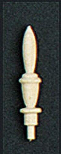 """7//8/"""" 4 Pack Dollhouse Miniature Wooden Finials"""