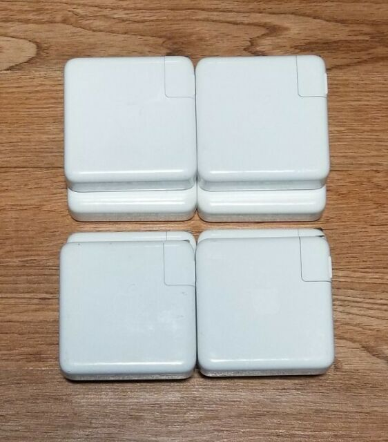 Lot of 8 Genuine OEM Apple A1719 87W USB-C Power Adapters With Cords