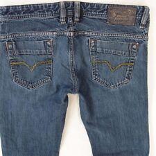 Mens Diesel SAFADO ORS4B Straight Slim Fit Blue Jeans W33 L30