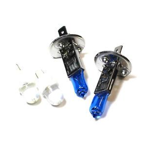 Fiat Bravo MK2 100w Super White Xenon HID Low//Side Headlight Headlamp Bulbs Set