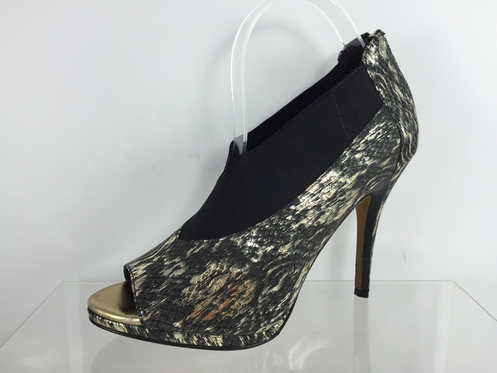 Donald J Pliner Womens Black/Gold Heels 9.5 9.5 9.5 M fcdd72