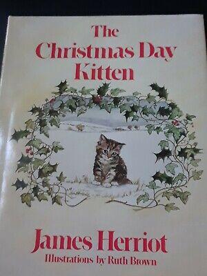 """James Herriot's """"The Christmas Day Kitten"""", 1986 Hardcover   eBay"""