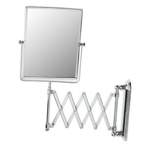 Large Expandable Shaving Makeup Mirror 3x Magnifying Wall