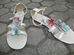 Sandalette-43-Sandale-Beige-Karneval-Fasching-Party-TV-TS-Buero-Trans-Strand