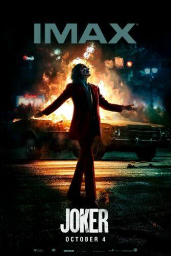 JOKER JOAQUIN PHOENIX IMAX MOVIE Art Silk Poster 8x12 12x18