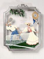 Wilhelm Schweizer German Zinnfiguren Pewter - Tennis - Tennis Match