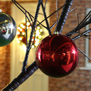 25-30CM-INDOOR-SHATTERPROOF-CHRISTMAS-PARTY-TREE-HANGING-DECORATION-BAUBLE-BALL
