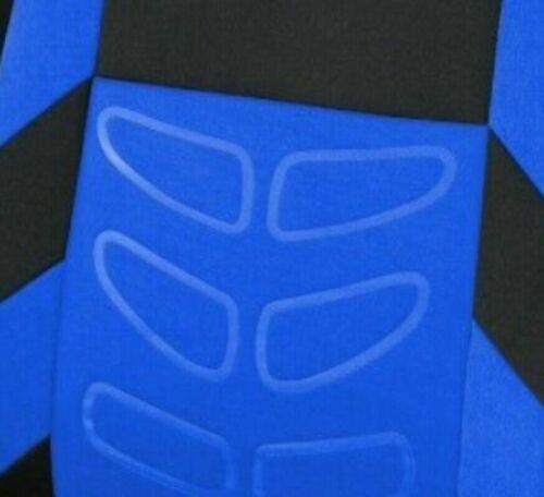 Komplett Schonbezüge Satz Sitzbezüge Blau Hochwertig Komfort für Opel Seat