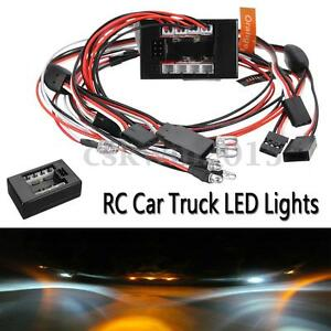 1-10-RC-Car-truck-LED-lighting-Kit-BRAKE-HEADLIGHT-SIGNAL-Fit-2-4ghz-PPM-FM