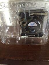 """Lot Of 5 Intel Socket 478 Copper Core CPU Heat Sink 2.5"""" Fan 3.40GHz D34080-001"""