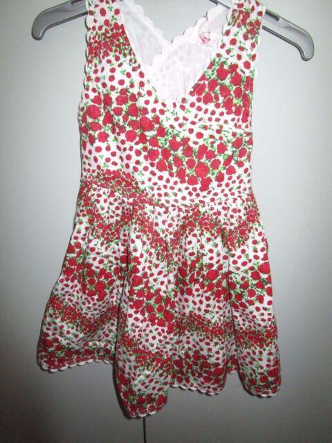 Girls Size 1 Pumpkin Patch X-back  floral  dress  12-18mths   NWT