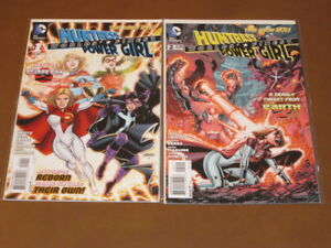 Worlds Finest #2 VF//NM George Perez DC Comics The New 52 Huntress Power Girl