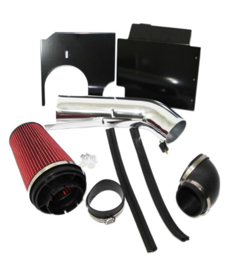 RED Cold Air Intake Kit+Heat Shield for Silverado Suburban Escalade Tahoe Sierra