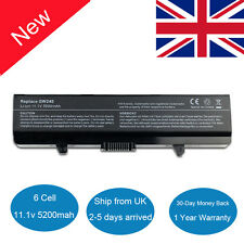 5200mah Laptop Battery for Dell Inspiron 1525 1526 1545 1546 GW240 X284G RN873