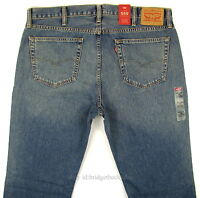 Levis 559 Jeans Mens Relaxed Fit Size 40 X 32 Blue W/fade Zip Fly Levi's on sale