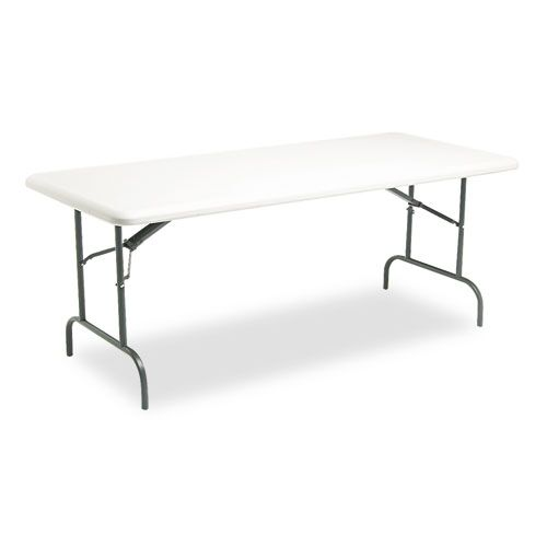 Iceberg 65223 Indestructable Too 1200 Series Resin Folding Table 72w X 30d  | EBay