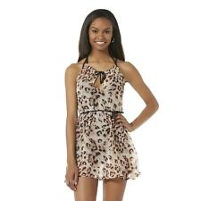Swinwear Cover-Up & Belt - Leopard Print - Size Large NWT Ladies Attention
