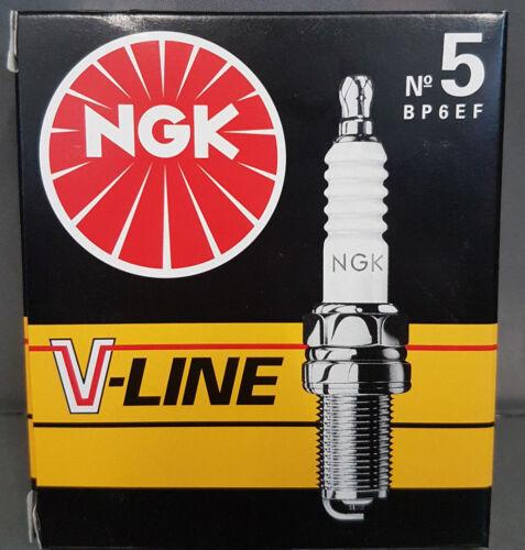 4 x NGK V-LINE 5 bp6ef per candele 6466 #