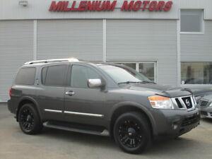2012 Nissan Armada PLATINUM EDT 4WD/NAVI/B-CAM/DVD/SUNROOF/7-PASS