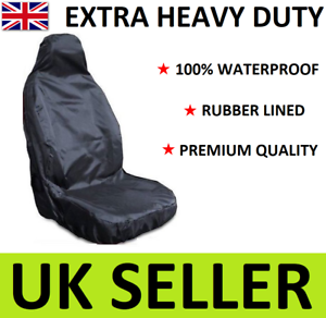 TOYOTA PROACE HEAVY DUTY CAR SEAT COVER PROTECTOR x1 / 100% WATERPROOF