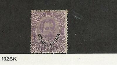 Eritrea - Italien, Briefmarke, #9 Gebraucht, 1892, Jfz