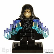Custom Darth Sidious Palpatine Star Wars Minifig fits with Lego  UK Seller