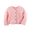 NWT-Carters-Infant-Girl-039-s-Chunky-Purl-Knit-Cardigan-Sweater-White-Pink-NB-12-Mo thumbnail 5