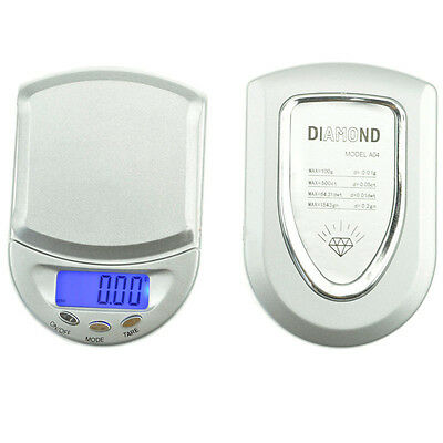 500g x 0.1g Mini Pocket Diamond Digital Jewelry Gold Gram Balance Weight Scale