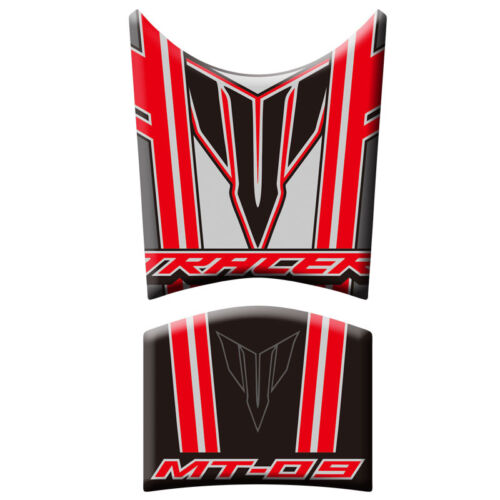Motorcycle Tank Pad Protective Decals Stickers For Yamaha MT-09 Tracer 2013-2015