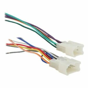 details about gently used metra 70 1761 radio wiring harness for toyota 87 up power 4 speaker  toyota radio wiring adapter #9