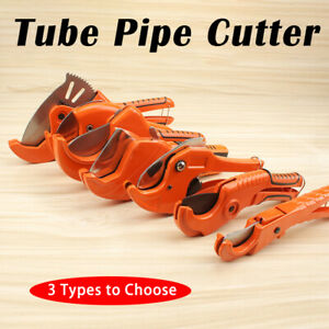 Details About 64 63 42mm Ratchet Pvc Plastic Tube Pipe Conduit Cutter Plumbing Plumber Tool