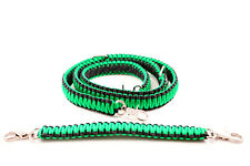 Firefighter Ems Police Paracord Radio Strap Sling 60 With 13 Stabilzer Green