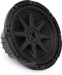 Kicker-700W-10-Inch-CompVR-2-Ohm-Subwoofer-Car-Audio-Bass-Power-Sub-43CVR102