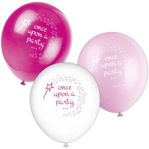 PINK PRINCESS /& UNICORN Birthday Party Range UQ Tableware /& Decorations