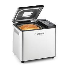 Machine à pain automatique confiture yaourt riz gluant 550W 750g inox argent