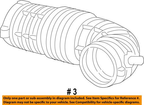 CHRYSLER OEM Air Intake-Inlet Duct Tube Hose 4861940AC