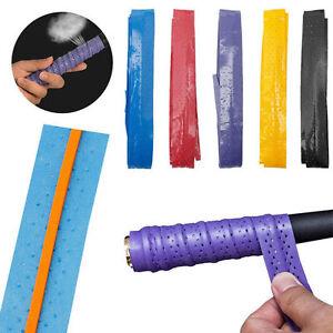 Anti-Slip-Racket-Over-Grip-Roll-Tennis-Badminton-Squash-Handle-Tape-5-Colors-New