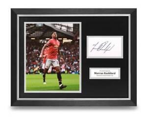Marcus-Rashford-Signed-16x12-Framed-Photo-Display-Man-Utd-Autograph-Memorabilia