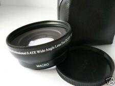 BK 52mm 0.45X Wide-Angle Lens FOR Panasonic DMC-FZ8 DMC-FZ7 Camera