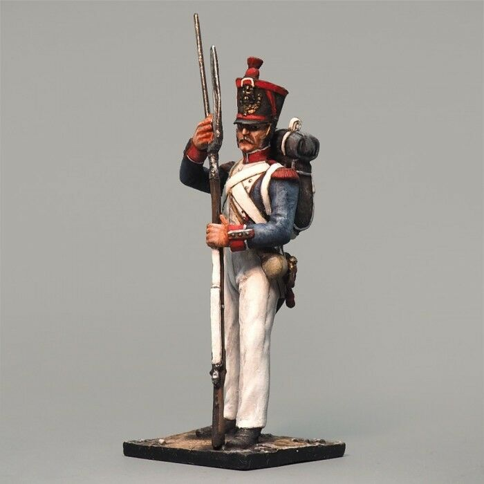 Tin soldiers, 54mm, Grenadier line infantry. France in 1812.