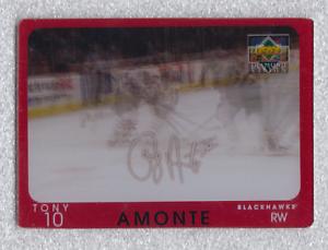 1997-98 Upper Deck Diamond Vision Signature Moves Tony Amonte #S19